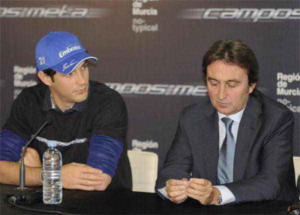 Campos presenta a Senna y añora a De la Rosa