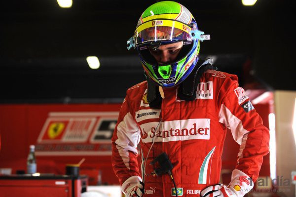 Massa hizo 400Km con el F2008 en Montmeló