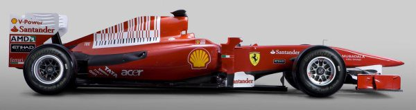 Ferrari presenta el F10