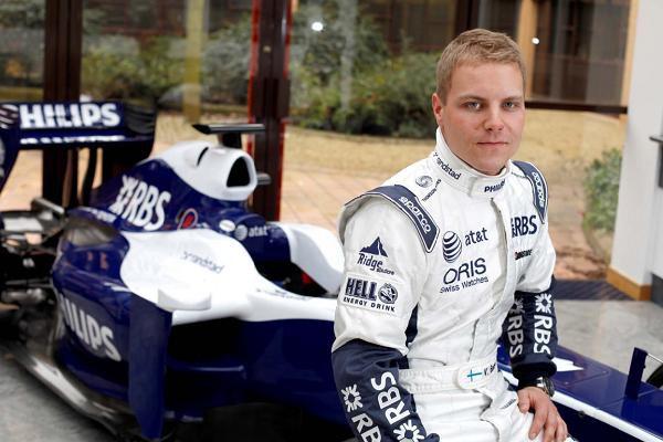 El finlandés Bottas, nuevo probador de Williams