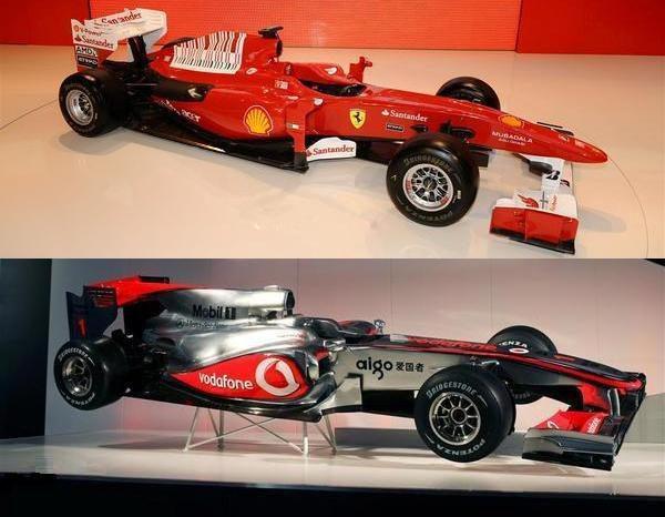 Breve comparativa entre el F10 y el MP4/25