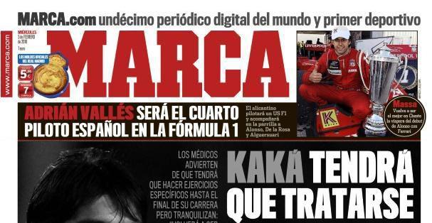 'Marca' da por hecho el fichaje de Adrián Vallés por USF1 002_small