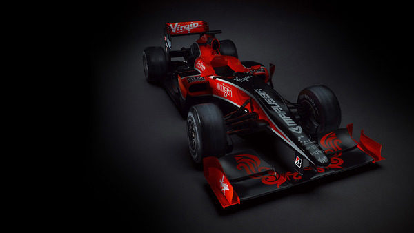 Virgin Racing presenta el VR-01