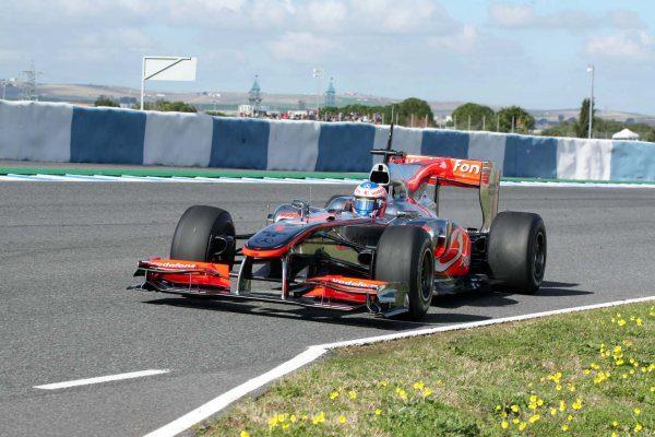 Kobayashi, el hombre más rápido del día en Jerez