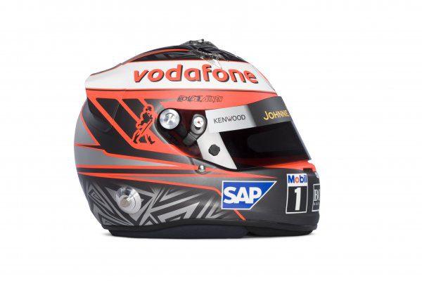 Así es el nuevo casco de Heikki Kovalainen