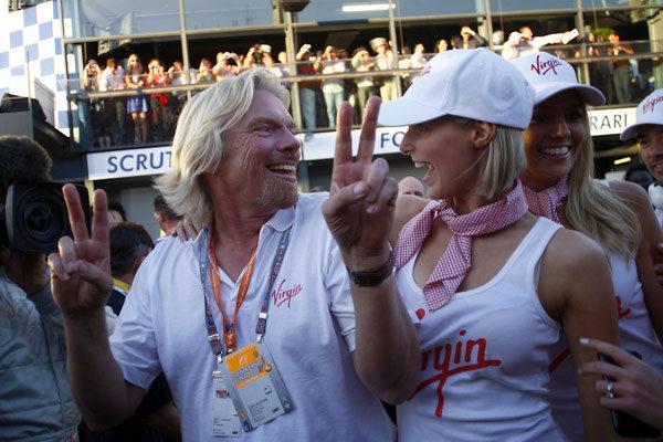 Branson responde a Ferrari