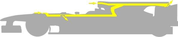 Funcionamiento del ala trasera del MP4/25