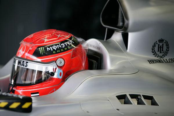 Schumacher está muy feliz con su regreso