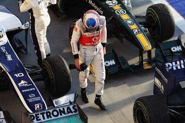 """Button, sobre el ritmo de Hamilton: """"Pensé que estaría muy cerca"""""""