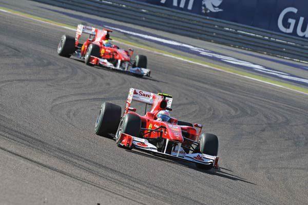 En Ferrari preocupa el sobrecalentamiento del F10
