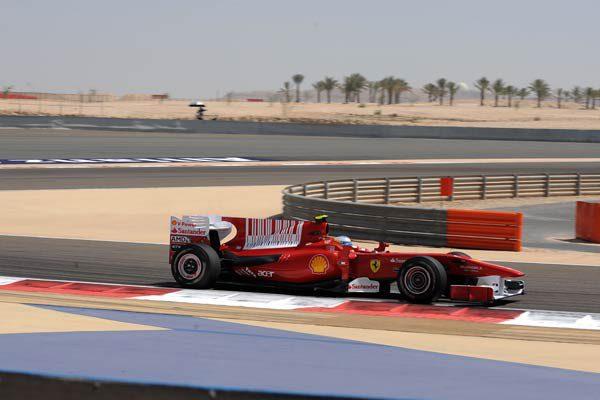Ferrari fue 10Kg mas pesado que el Red Bull en Bahrein