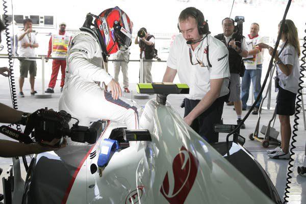 Kobayashi aprendió el circuito de Albert Park en el simulador de Toyota
