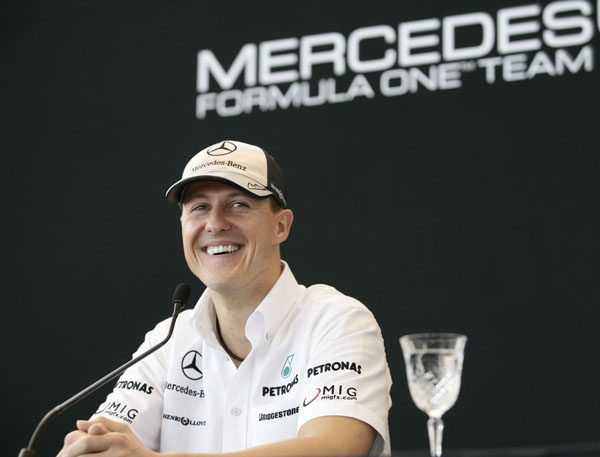 """Schumacher ve """"muchos aspectos positivos"""" a su actuación en Australia"""