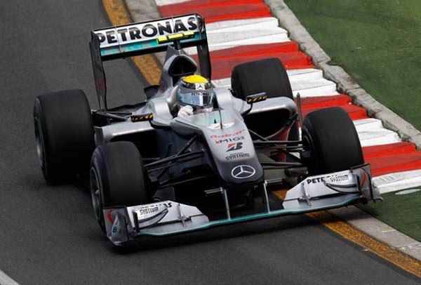 Mercedes firma su mejor resultado en calificación en lo que va de temporada