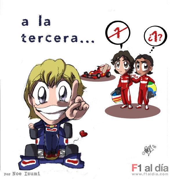 Los chibis (4): 'A la tercera...'