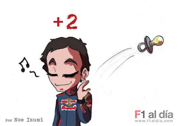 Los chibis (5): 'Los dos primeros puntos de Alguersuari'