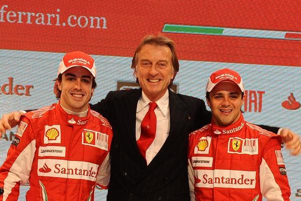 """Montezemolo: """"Estoy muy, muy contento con los dos pilotos"""" 001_small"""