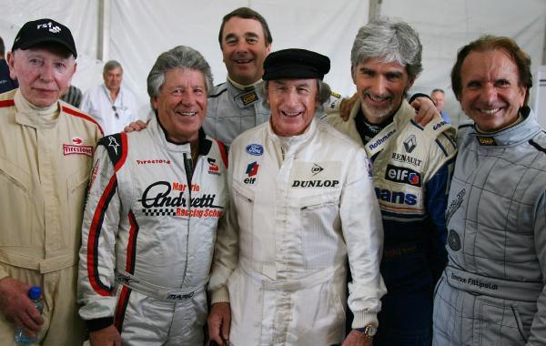Warwick, Mansell, Fittipaldi y Hill ejercerán de comisarios