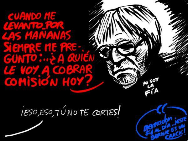 La viñeta (107): 'Bernie, el intermediario'