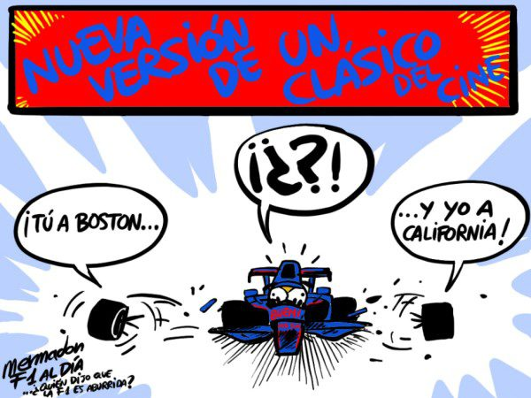 La viñeta (108): 'Tú a Boston y yo a California'