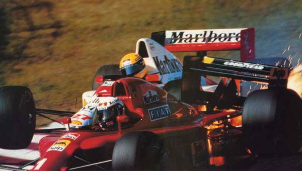Ayrton Senna; la leyenda