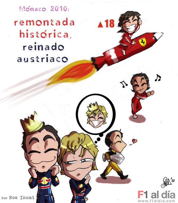 Los chibis (11): 'Cohetes rojos y azules'