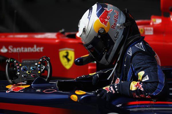 """Vettel espera irse a Ferrari """"en unos pocos años"""""""