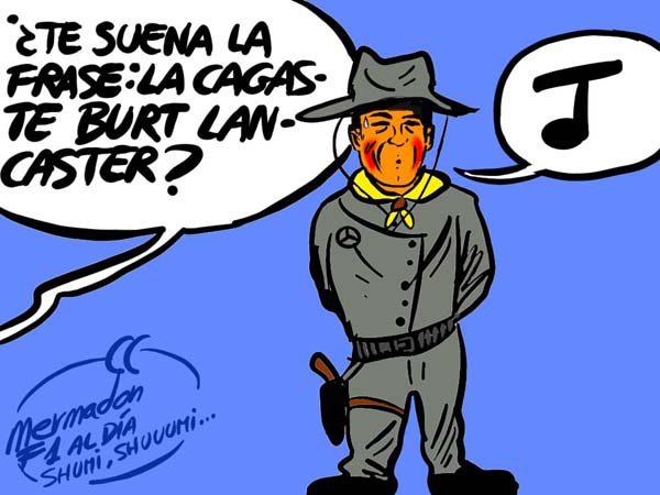La viñeta (117): 'La cagaste Burt Lancaster'