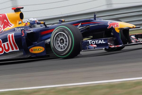 Vettel sufrió un fallo mecánico en la Q3