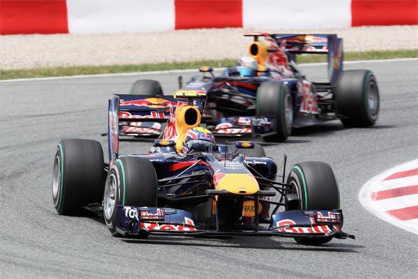 Vettel y Webber se culpan el uno al otro del accidente