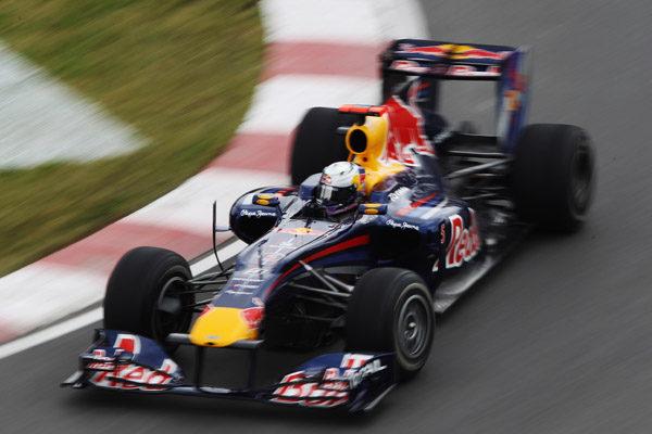 Vettel lidera la segunda sesión de Montreal por delante de Alonso