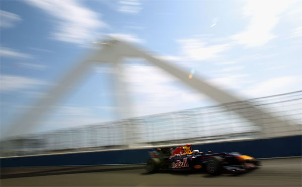Vettel vuelve a la 'pole' en Valencia