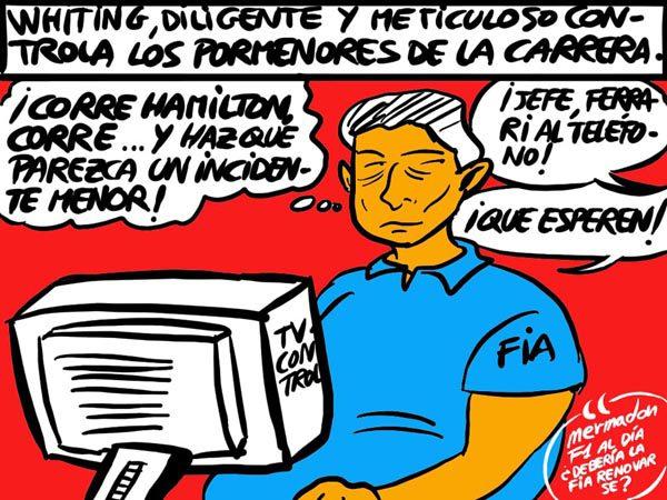 La viñeta (121): 'La FIA la lía'