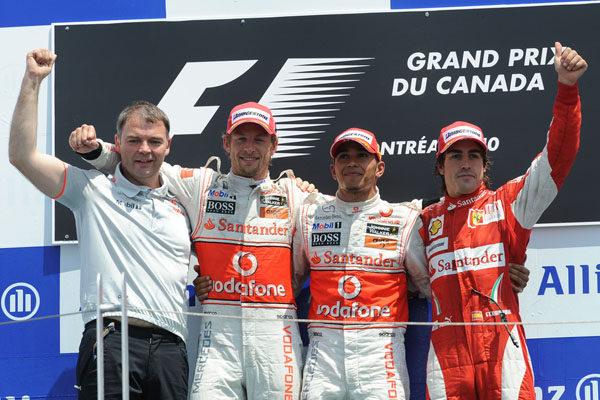 Hamilton y Alonso hablaron tras lo ocurrido en Valencia