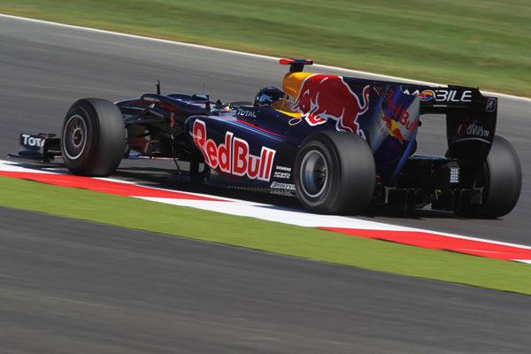 Vettel saldrá primero en Silverstone