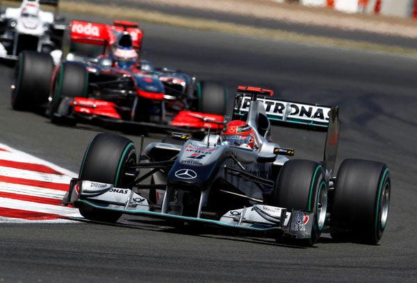 """Schumacher: """"Es algo especial correr delante de tu afición"""""""