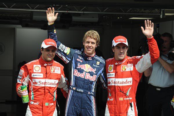 Sebastian Vettel consigue la 'pole' en el GP de Alemania