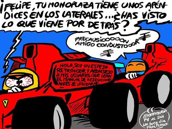 La viñeta (122): '¿Un buen día para Ferrari?'