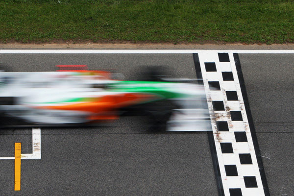 Sanción económica a Force India por un nuevo error con los neumáticos