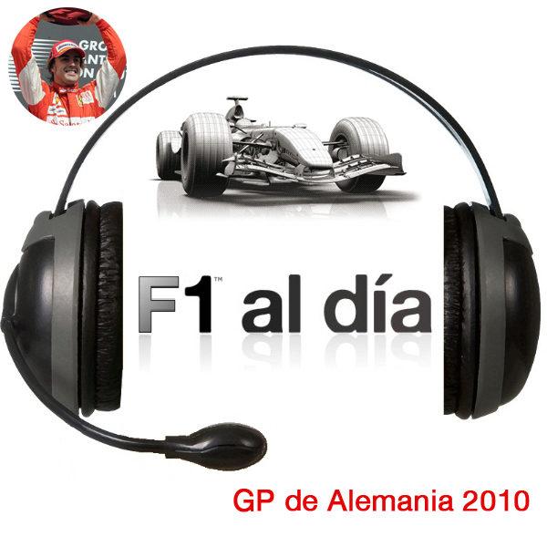 F1 al día Podcast: 02x12 - GP de Alemania 2010