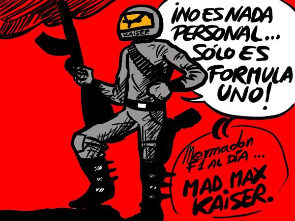 La viñeta (125): 'Mad Max kaiser'
