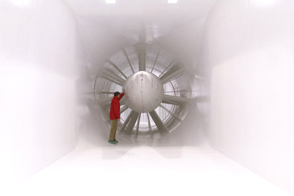Epsilon Euskadi empieza a probar su monoplaza de F1 en el túnel de viento 001_small