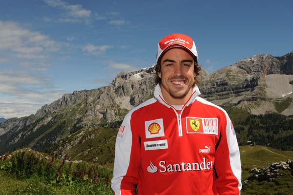 Fernando Alonso ya está de Vacaciones 001_small