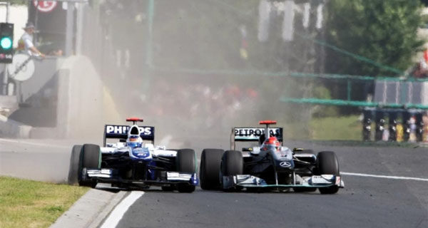 """Irvine: """"Schumacher fue un idiota en Hungría"""""""