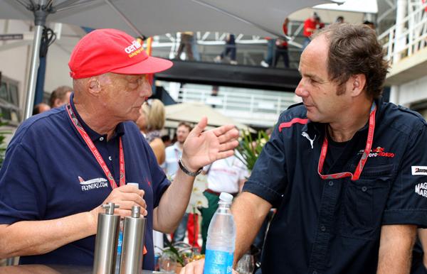 """Berger: """"Las tácticas de Schumacher eran comunes en el pasado"""""""