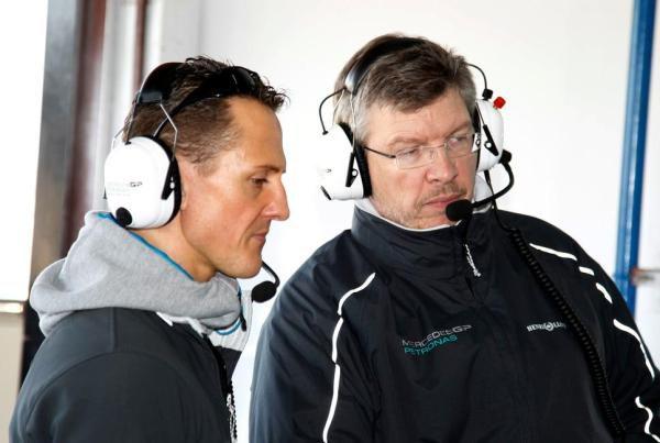 """Schumacher: """"El Mercedes es un vestigio de lo que fue el Brawn"""""""