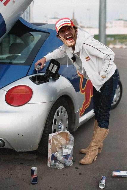 La puzolana: Webber y el salto de la victoria