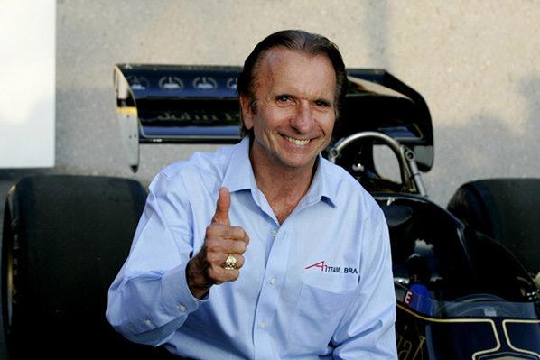 Fittipaldi, piloto comisario del Gran Premio de Italia