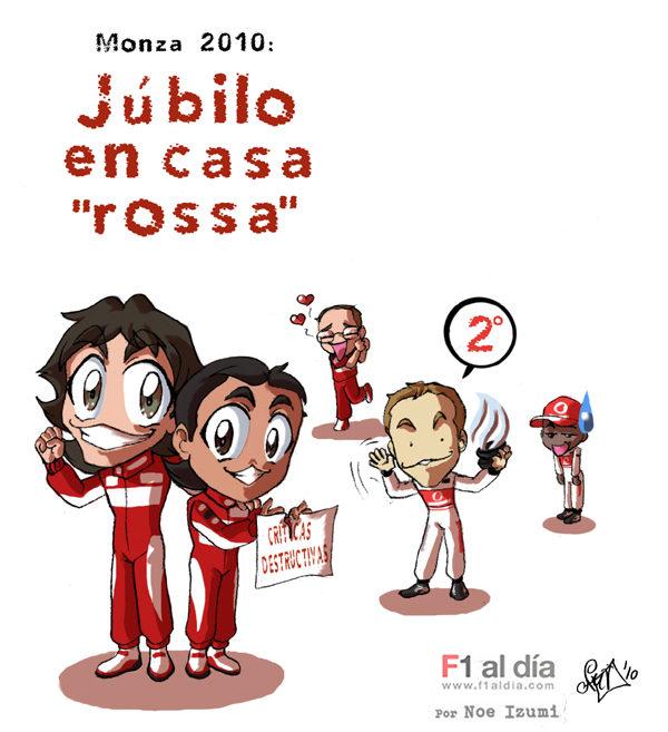 """Los Chibis (26): """"Rosso"""" pasión"""