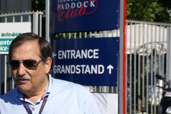 José Ramón Carabante y Pedro de la Rosa mantuvieron un encuentro en Monza 001_small